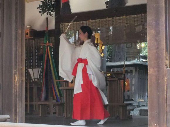 八幡神社神楽
