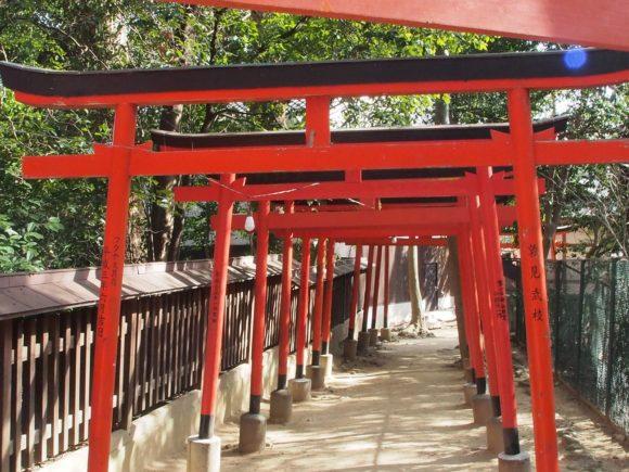 八幡神社お稲荷さん鳥居